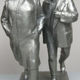 Скульптура. Из подполья. В.С. Чеботарев 1970-е г.г.