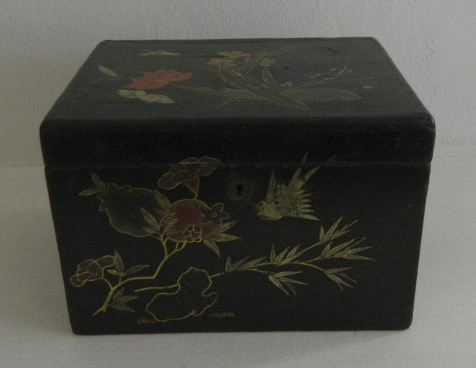 Коробка для чая. Россия. Кон. XIX в.