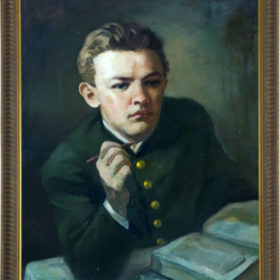 Игламов И.К. «В.И.Ленин за изучением «Капитала» 1946 г.