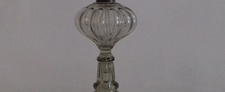 Лампа керосиновая. Конец XIX в.