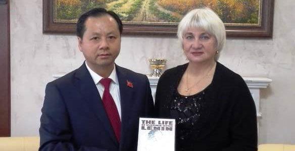 Официальный прием в Генеральном  консульстве КНР в Казани.