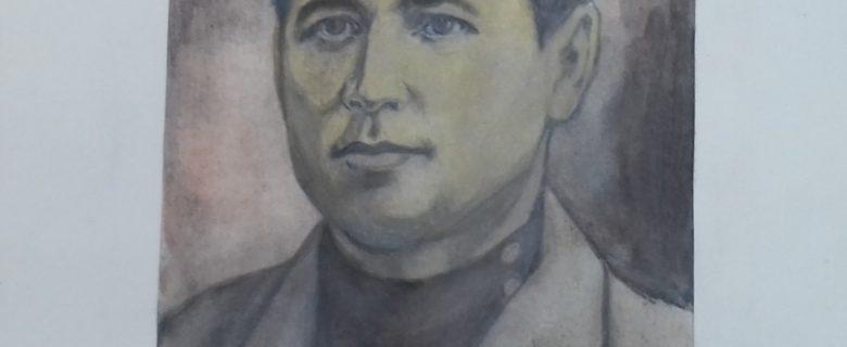 Рисунок. Рахимов М.З. «Сахибгарей Саид-Галиев»