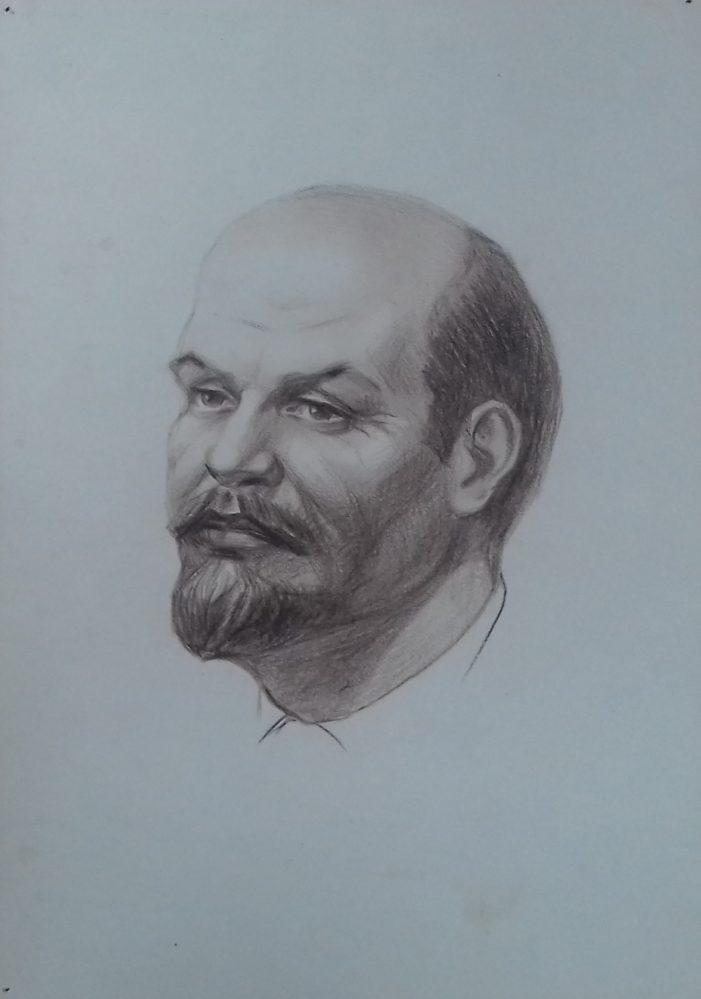 Рисунок. Симонов В.И. «В.И. Ленин»