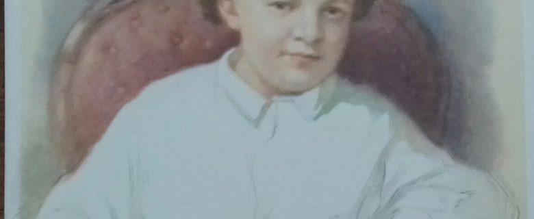 Открытка. В.Ульянов в возрасте 4-х лет. 1965 г.